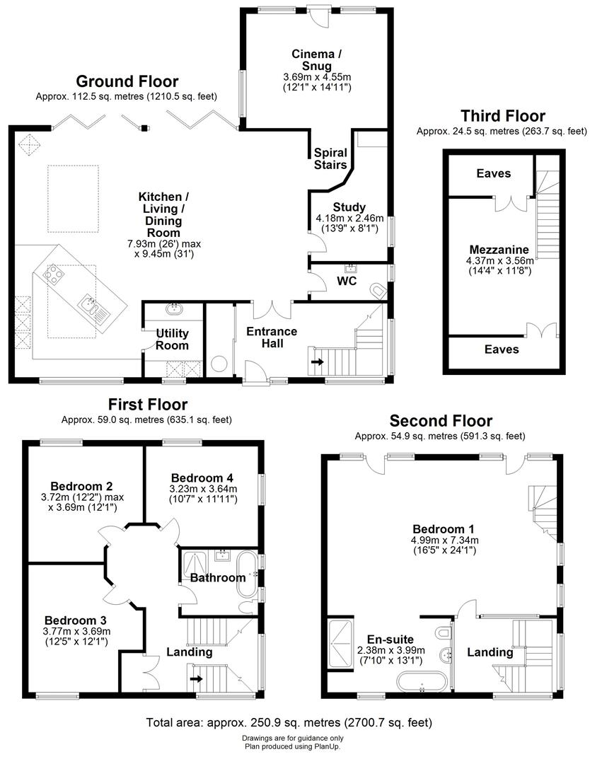 Floor plan Mile End Road, Prickwillow